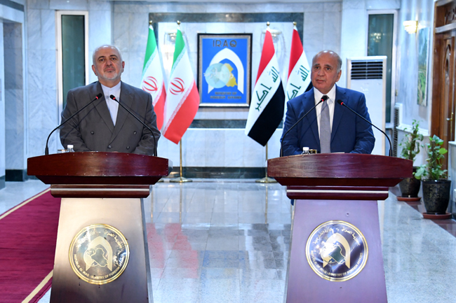 IRANIAN FOREIGN MINISTER VISITS BAGHDAD SUNDAY 6