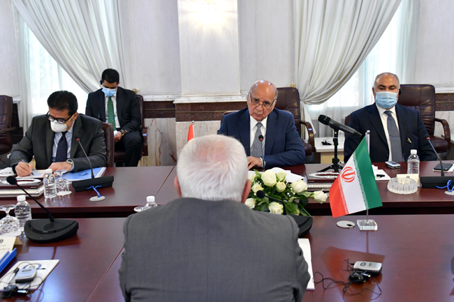 IRANIAN FOREIGN MINISTER VISITS BAGHDAD SUNDAY 8