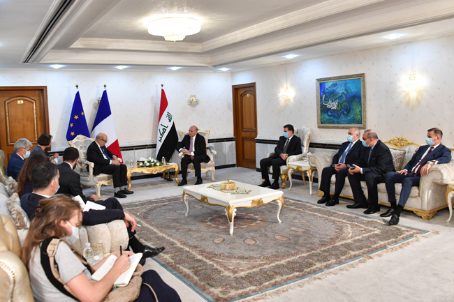Joint statement between the Republic of Iraq and the Republic of France (Baghdad: July 16, 2020) 9