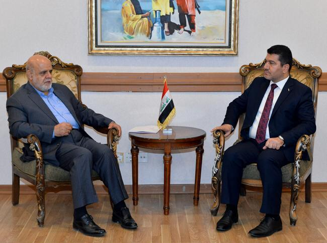 IRANIAN FOREIGN MINISTER VISITS BAGHDAD SUNDAY BF17A5C7-2C61-4FCF-B86B-BDE2A5A746EC