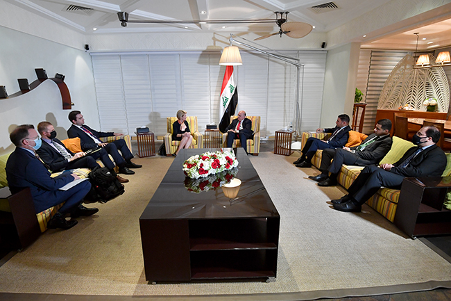 Iraq sends an invitation to the President of the Bank of the United States to visit Baghdad 1-21