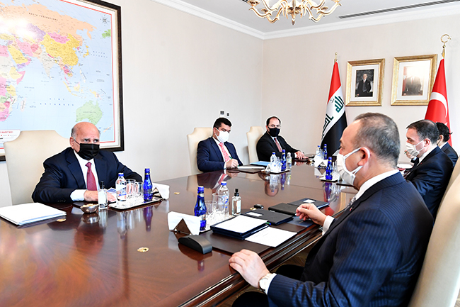 Foreign Minister: We discussed with the Turkish side the possibility of resuming the work of the 2009 Memorandum of Understanding to exempt citizens of both countries from entry visas, and Turkey affirms support for Iraq to achieve security and stability 2-24
