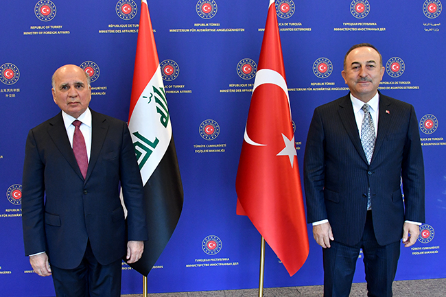 Foreign Minister: We discussed with the Turkish side the possibility of resuming the work of the 2009 Memorandum of Understanding to exempt citizens of both countries from entry visas, and Turkey affirms support for Iraq to achieve security and stability 26