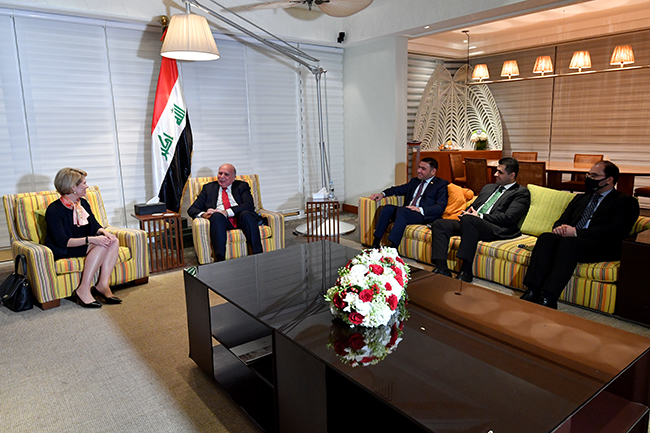 Iraq sends an invitation to the President of the Bank of the United States to visit Baghdad 3-17