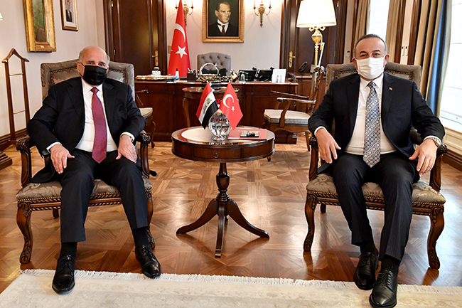 Foreign Minister: We discussed with the Turkish side the possibility of resuming the work of the 2009 Memorandum of Understanding to exempt citizens of both countries from entry visas, and Turkey affirms support for Iraq to achieve security and stability 6-10