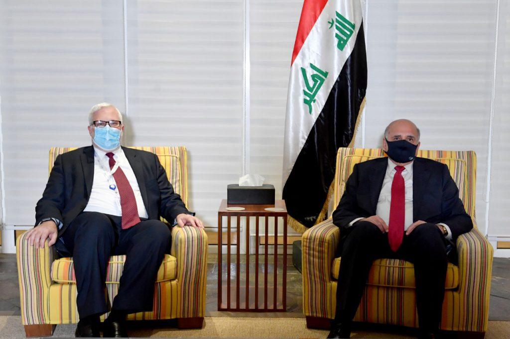 The Secretary of State meets the US President's envoy to Syria EFD57D34-7BDF-4BD7-B552-6519772B631C-1024x682