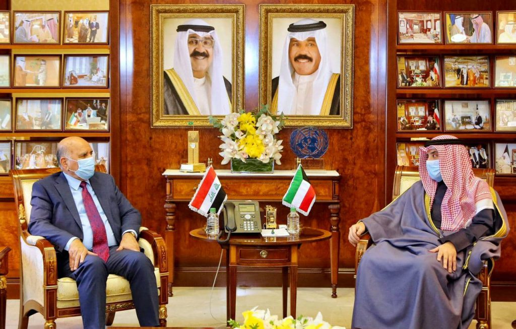 The Iraqi Foreign Minister meets with the Prime Minister of the State of Kuwait Sheikh Sabah Al-Khaled Al-Hamad Al-Sabah Photo_2020-12-15_13-02-18-1024x653